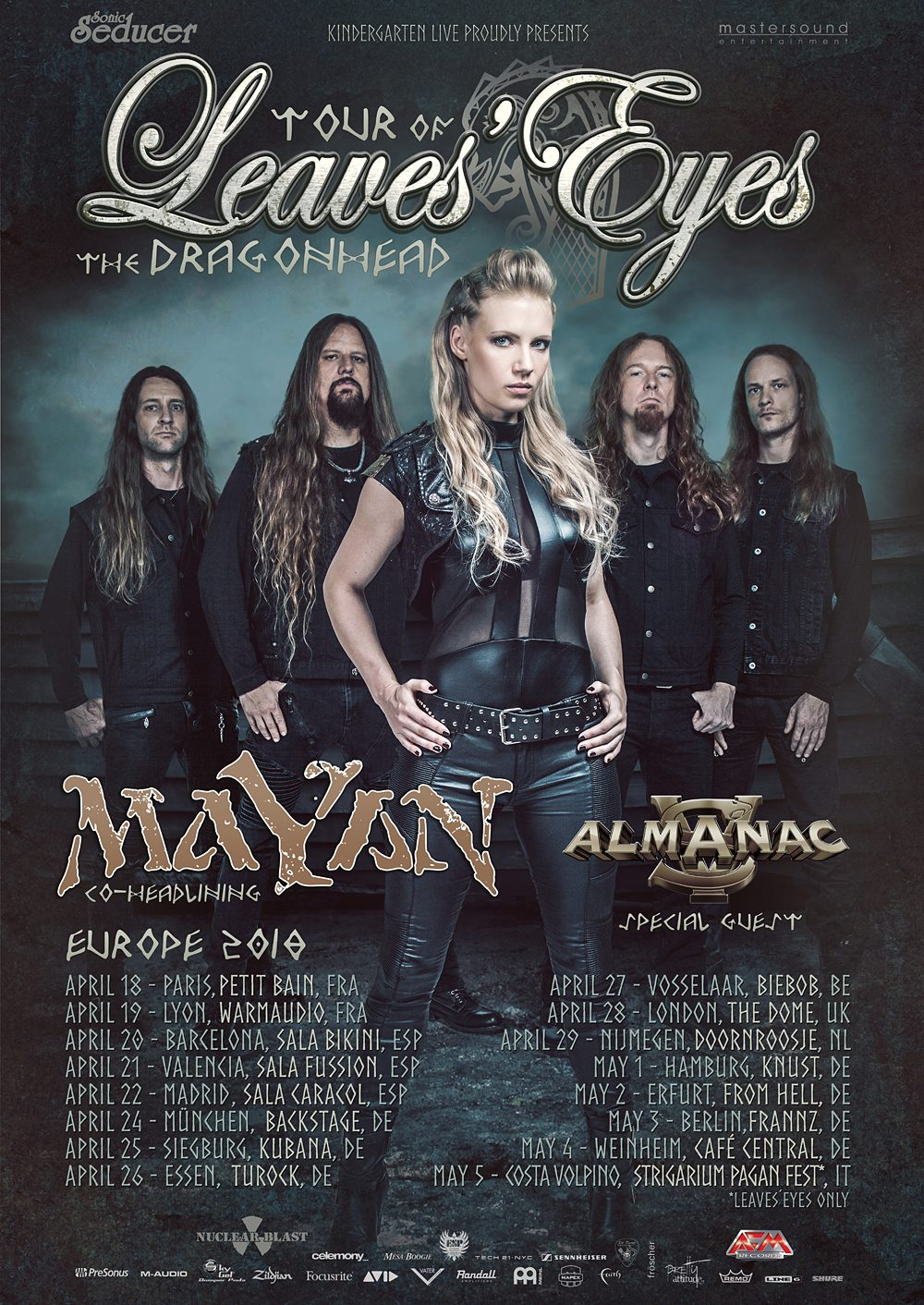 MaYaN LE Almanac tourposter updated