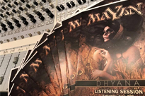 DHYANA listening session - first reactions and pics!